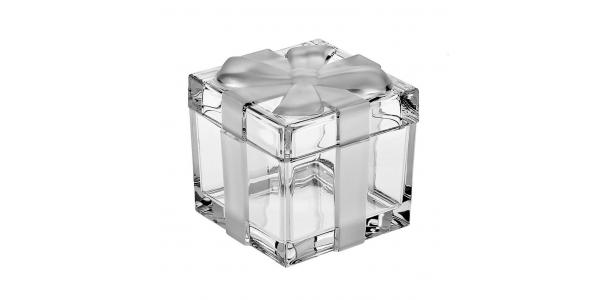 Boîte cristal BOW