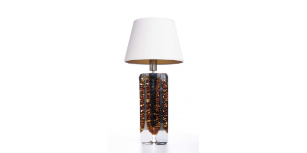Trion crystal lamp